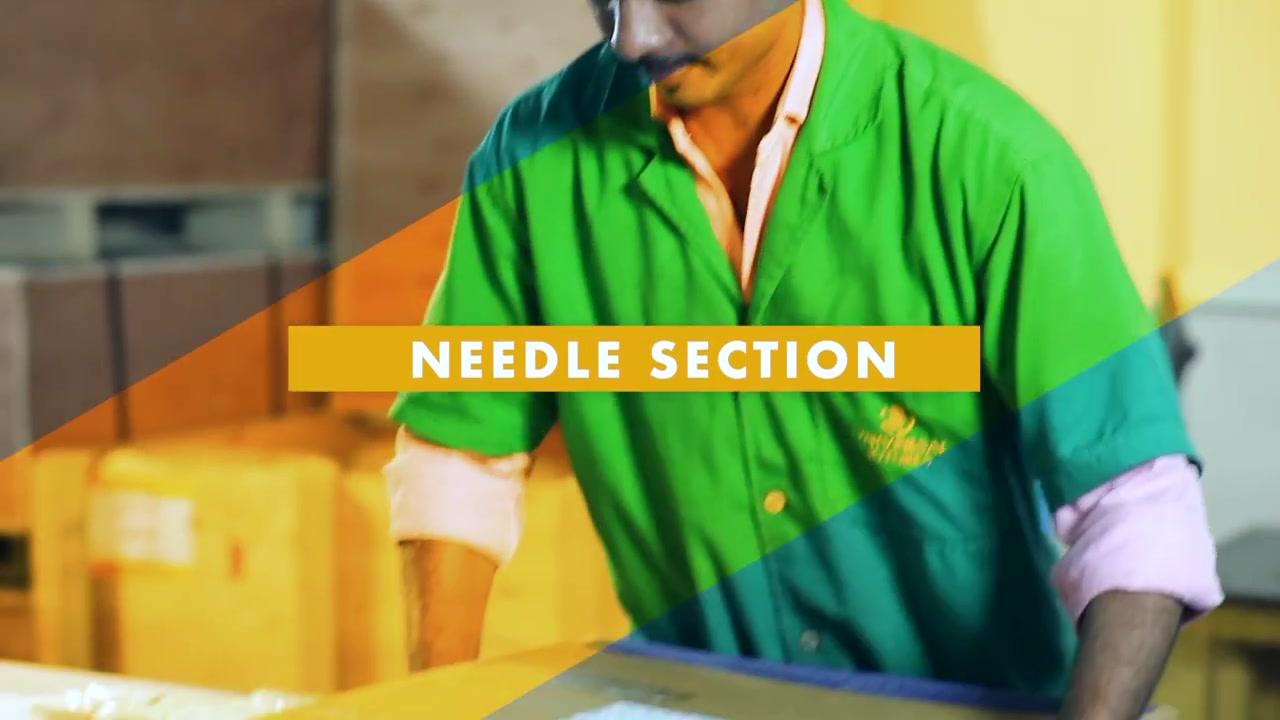 Needle section