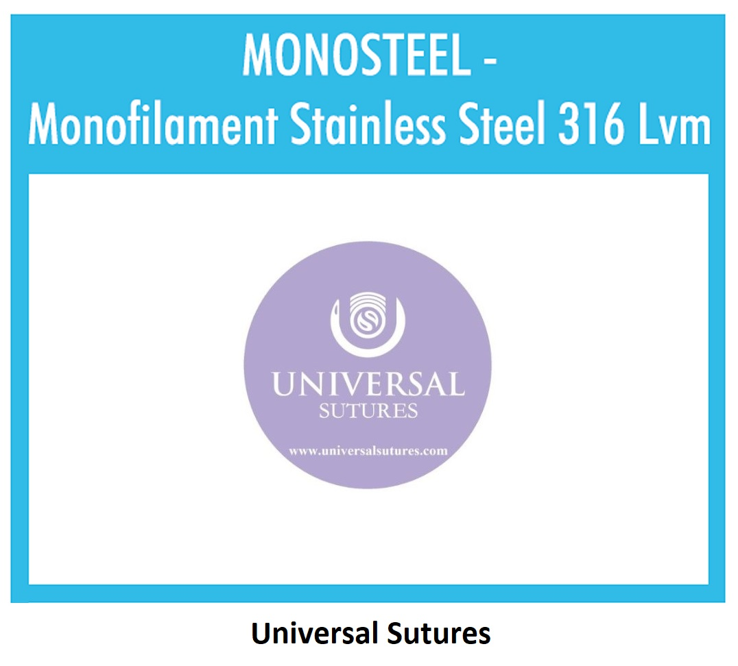 Monofilament Stainless Steel 316 Lvm